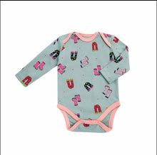 Load image into Gallery viewer, My Little Arrow Girl Onesies Long Sleeve - 3 Pack - One-Pieces - Organic Cotton Hypoallergenic Bodysuits 3-6 to 6-9 Months