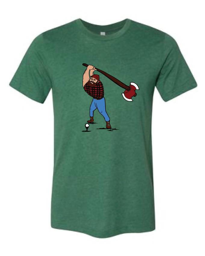 Paul Bunyan Golf Shirt (Green)