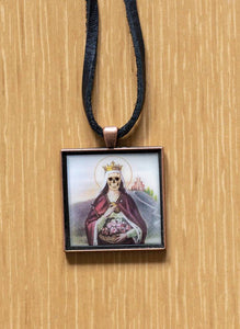 Saint Isabella on Leather
