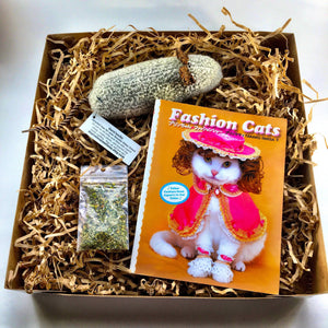 Japanese Cat Fashion Book, Crazy Cat Gift Cat Clothes, Eco Cat Toys, Marvelous Melissa, Three Blind Mice, Combo, Ready to Ship
