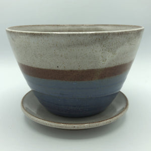 Small Planter with Catch Plate