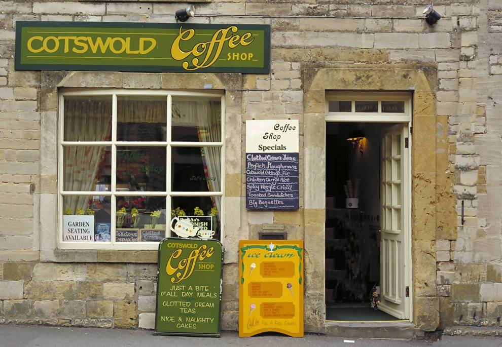 Photograph of Cotswold Coffee Storefront