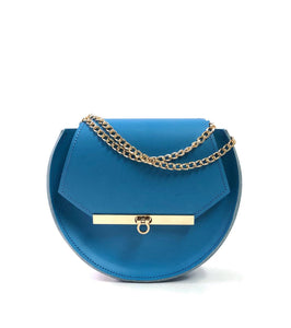Loel mini military bee crossbody bag in nebulas blue / More colors