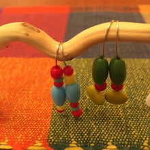 Load image into Gallery viewer, Color Block Earrings #1