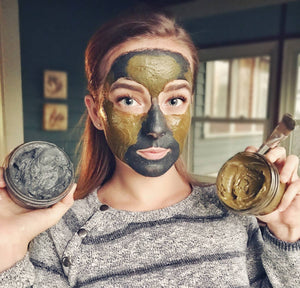 Turmeric Face Mask | Face Mask | With Matcha, Manuka Honey and Bentonite Clay | Clay Mask for Anti Aging, Skin Brightening, and Acne (2 oz)