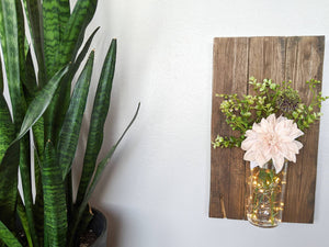 Reclaimed Wood Decorative Light