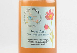 Organic Acne Toner | Tea Tree Toner | Made with Apple Cider Vinegar | Facial Toner | For Acne and Oily Skin (4 oz)