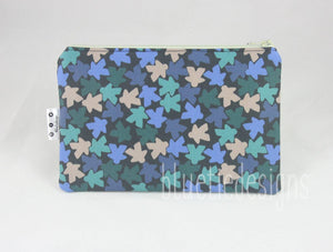 Forest Meeples Zip Bag