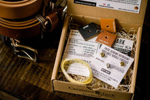 Load image into Gallery viewer, Custom Belt Kits - Oak Bark Outfitter Kit **Free Pouch Wallet Offer**
