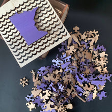 Load image into Gallery viewer, Minnesota Wooden Puzzle - Purple