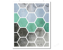 Load image into Gallery viewer, Abstract Hexagon Art | Photography