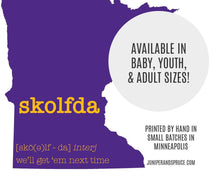 Load image into Gallery viewer, Minnesota Skolfda Baby One Piece