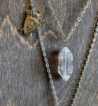Load image into Gallery viewer, Saint George Layered Necklace - Tibetan Quartz