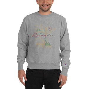 All of Minnesota Champion Sweatshirt