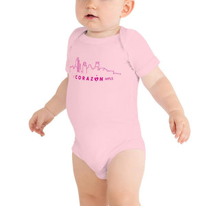 I Corazon MPLS Infant Short Sleeve Bodysuit