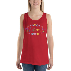 Latin Us Unisex Tank Top