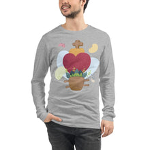 Load image into Gallery viewer, Oaxacan Flower Basket Long Sleeve Tee