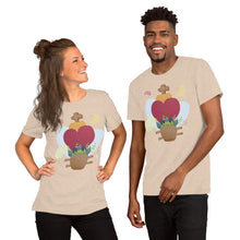 Load image into Gallery viewer, Oaxacan Flower Basket Short-Sleeve Unisex T-Shirt