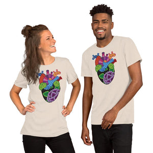 Corazon Short-Sleeve Unisex T-Shirt
