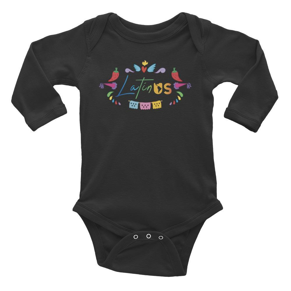Latin Us Infant Long Sleeve Bodysuit