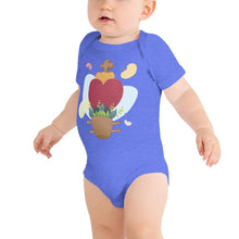 Load image into Gallery viewer, Oaxacan Flower Basket Infant Short Sleeve Bodysuit