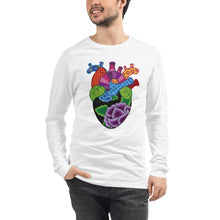 Load image into Gallery viewer, Corazon Unisex Long Sleeve Tee