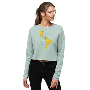 We're All One Crop Sweatshirt
