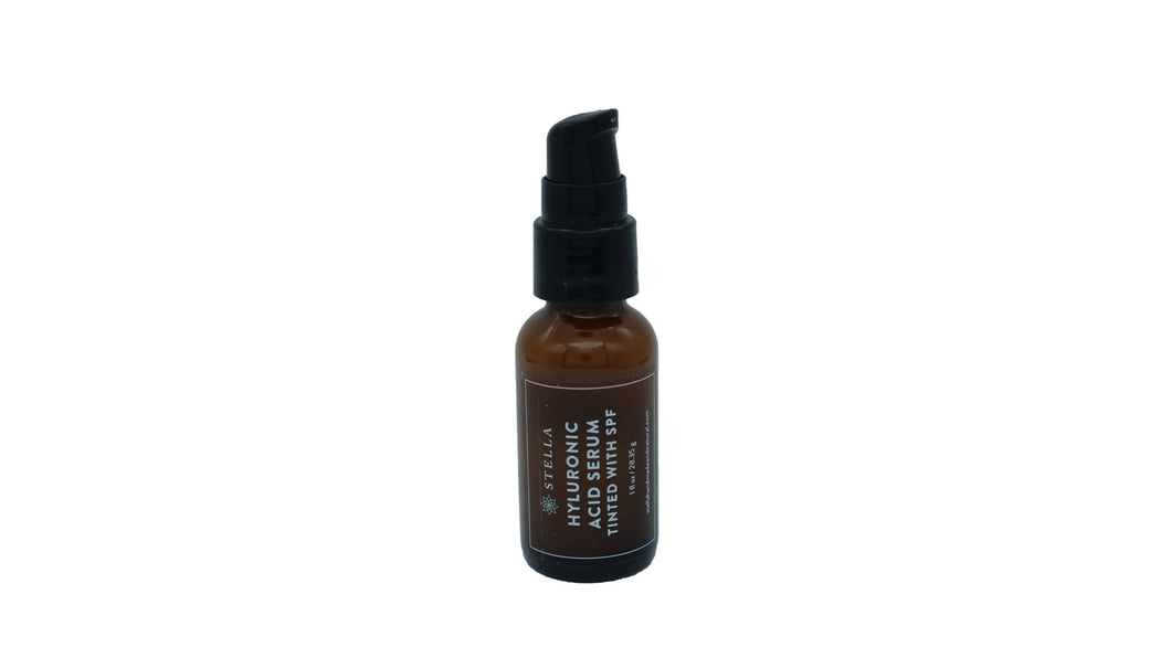 Tinted Hyaluronic acid Serum with SPF 1 oz
