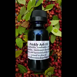 Prickly Ash Oil for sore joints & muscles - vegan