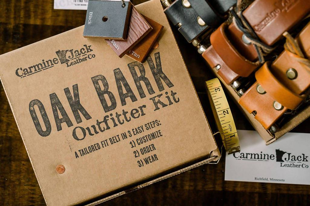 Custom Belt Kits - Oak Bark Outfitter Kit **Free Pouch Wallet Offer**