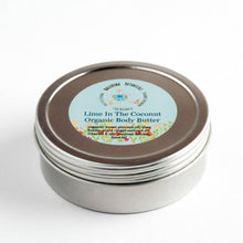 Load image into Gallery viewer, Organic Body Butter with Shea Butter and Vitamin E Oil for Dry Skin | Lime in the Coconut, Lavender and Chamomile or Frankincense Body Cream