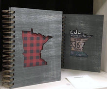 Load image into Gallery viewer, Minnesota Journal - Handmade Wooden Journal