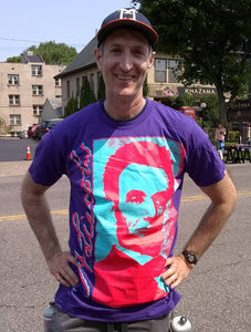 """Classic Lincoln"" T-shirt (Purple)"