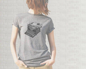 Adult T-Shirt - Vintage Typewriter