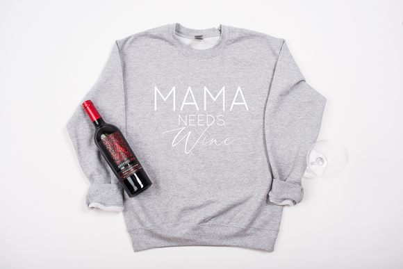 MAMA needs Wine Sweater