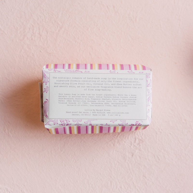 Lollia Soap Bar Shea Butter Soap