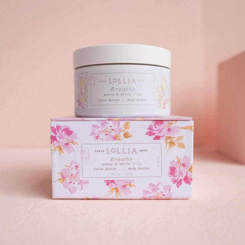 Lollia Body Butter Breathe Whipped Body Butter