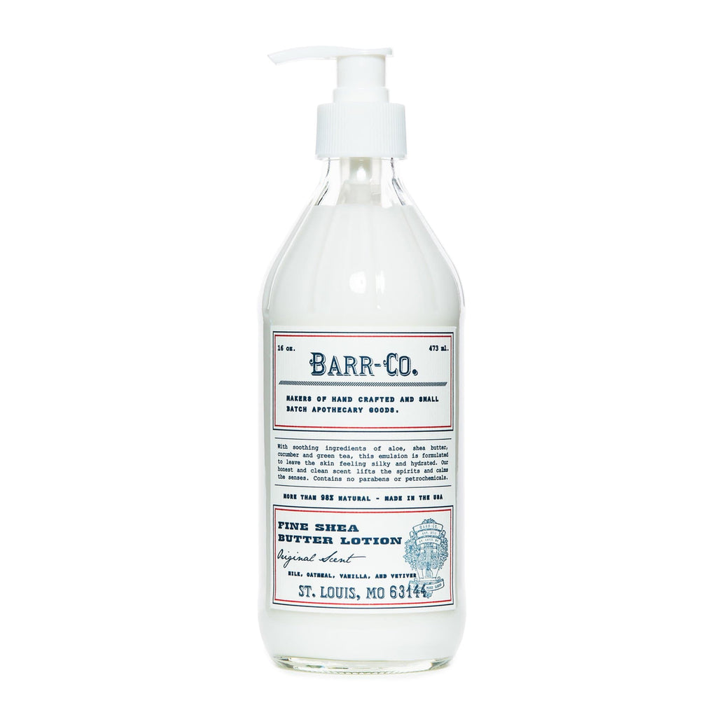 Barr-Co. Body Lotion Fine Shea Butter Lotion Original Scent