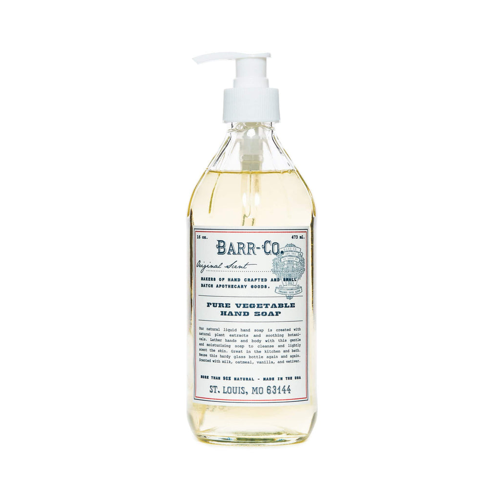 Barr-Co. Hand Soap Pure Vegetable Hand Soap Original Scent
