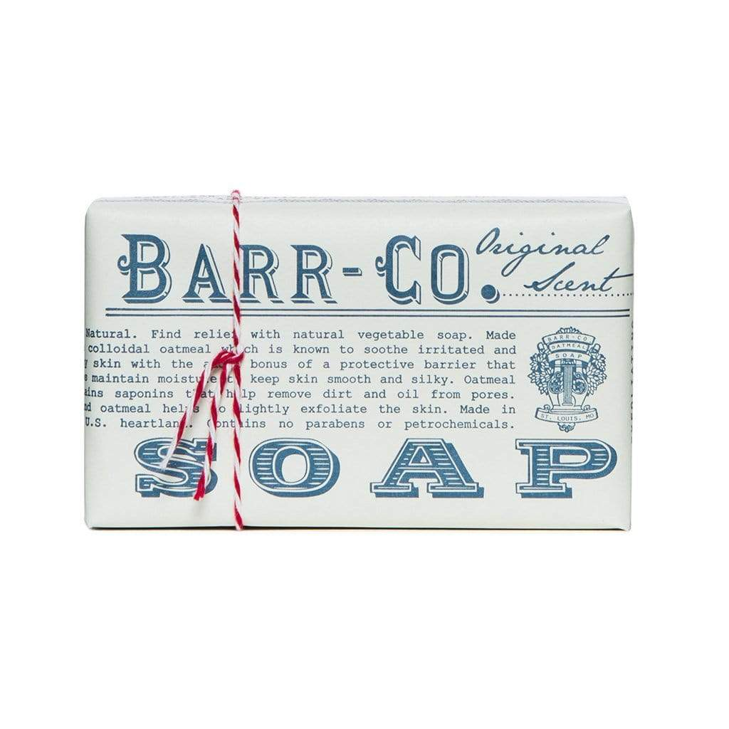 Barr-Co. Soap Bar Original Scent Triple Milled Bar Soap
