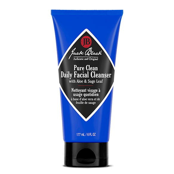 Jack Black Face Cleanser Pure Clean Daily Facial Cleanser 6 oz