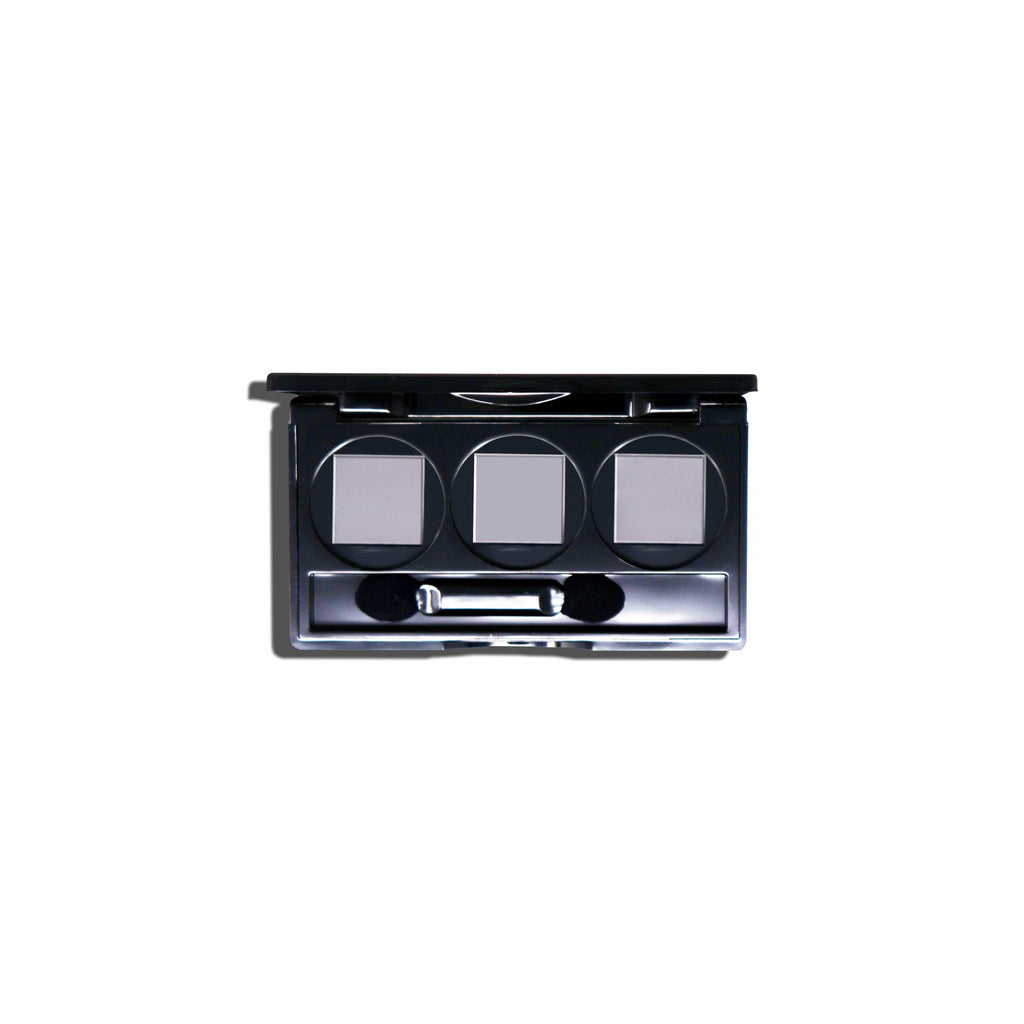 Eiluj Beauty Eyeshadow 3 Well Palette Empty Eyeshadow Palette