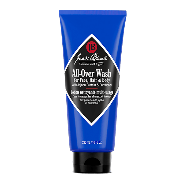 Jack Black Face Cleanser All-Over Wash for Face, Hair & Body  10 fl oz