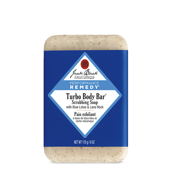 Jack Black Soap Bar Turbo Body Bar® Scrubbing Soap