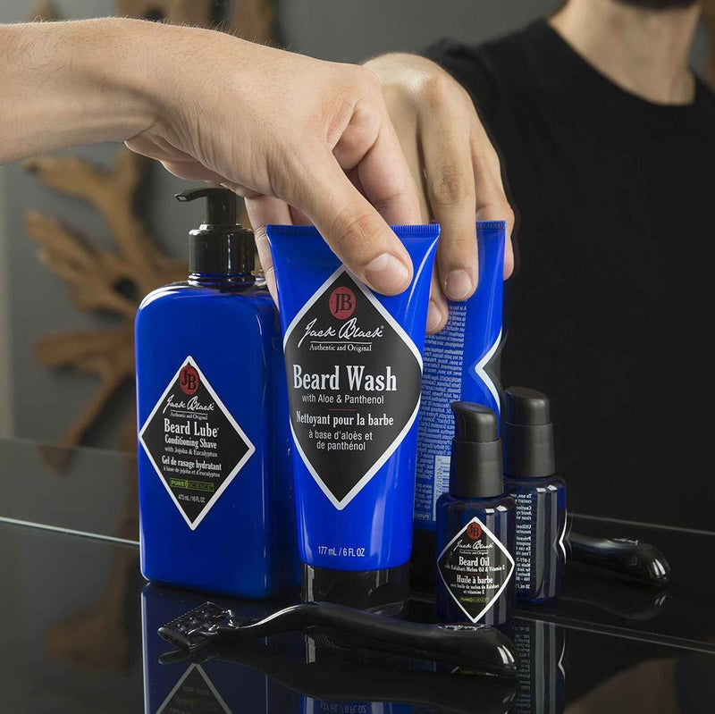 Jack Black Beard Wash Beard Wash with Aloe & Panthenol 6 oz