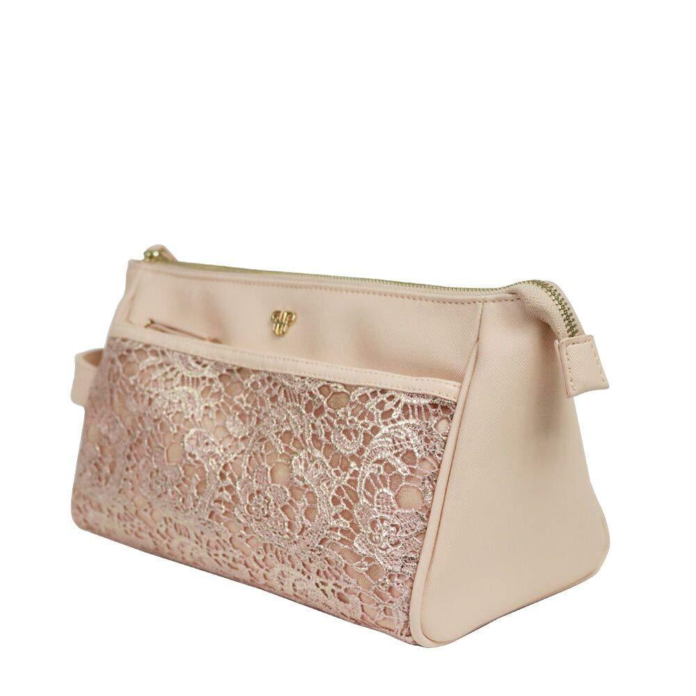 Zora Travel Case - Blush Lace
