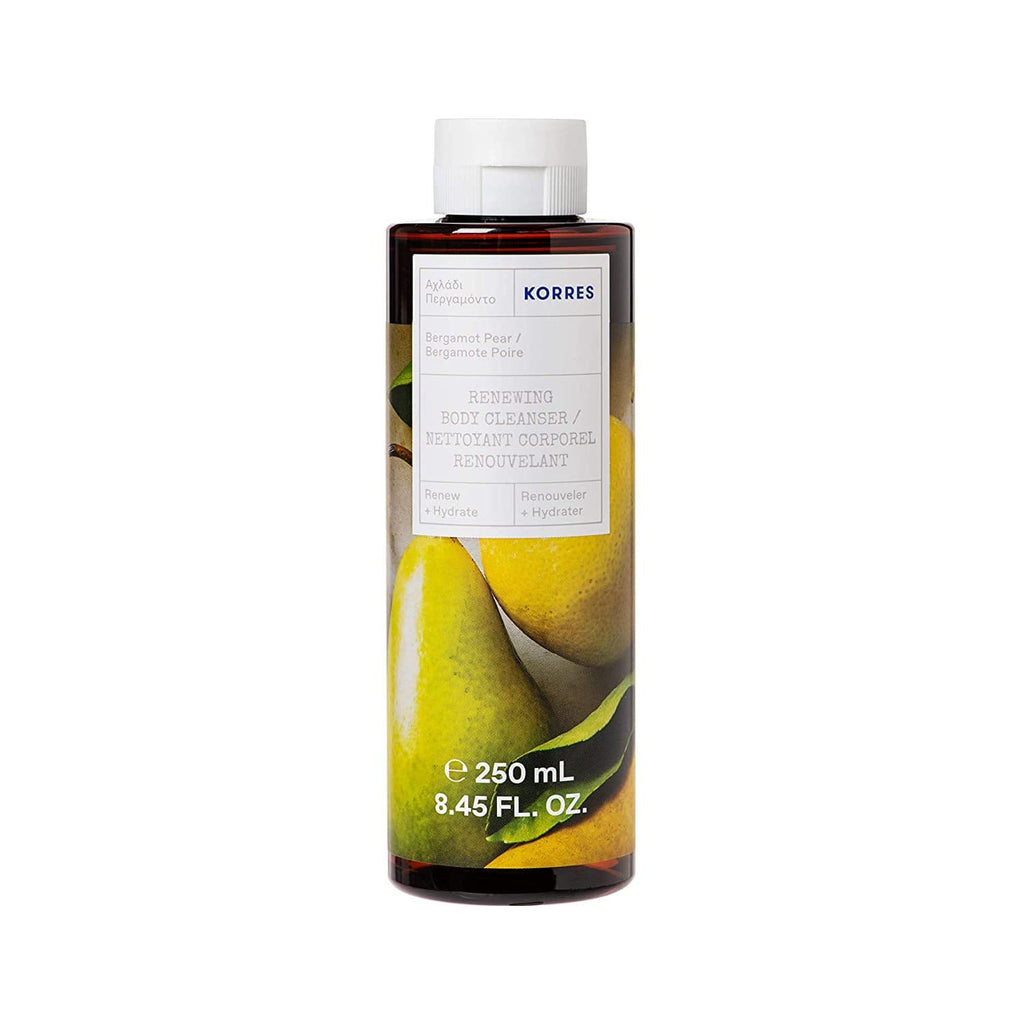 Korres Shower Gel Bergamot Pear Renewing Body Cleanser