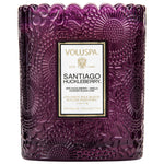 Voluspa Candle Santiago Huckleberry Scalloped Edged Candle