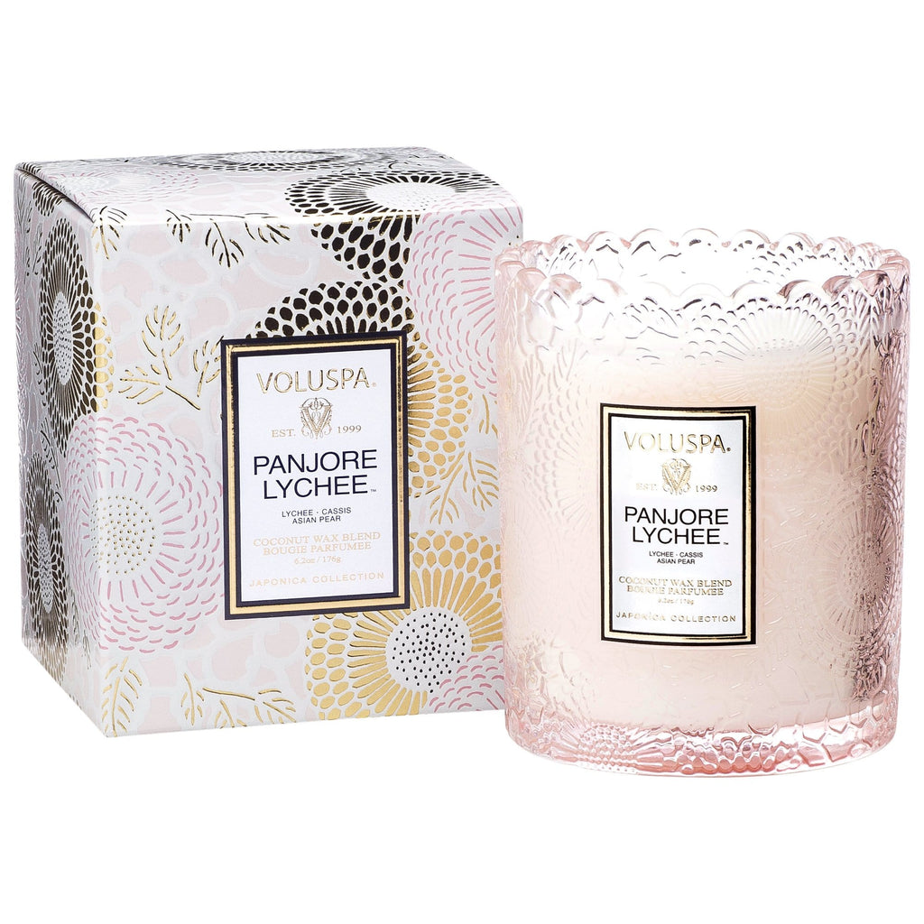 Voluspa Candle Scalloped Edged Candle