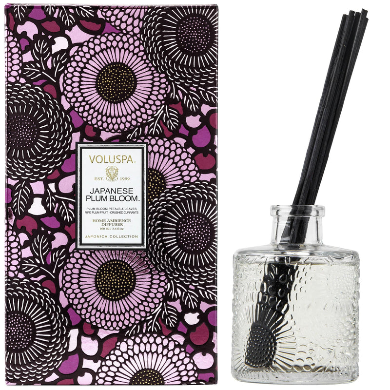 Voluspa Reed Diffuser Japanese Plum Bloom Reed Diffuser